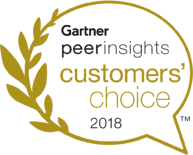 Gartner Peer Insights Customer Choice 2018 Award Logo