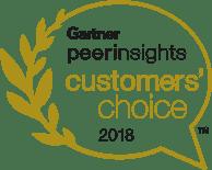 Gartner Peer Insights Customer Choice 2018 Award Logo